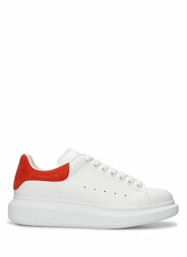 Alexander McQueen Alexander McQueen Oversize   Kadın Deri Sneaker 101611794 Beyaz